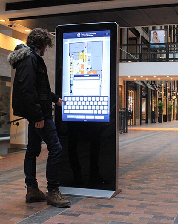 wayfinding digital signage