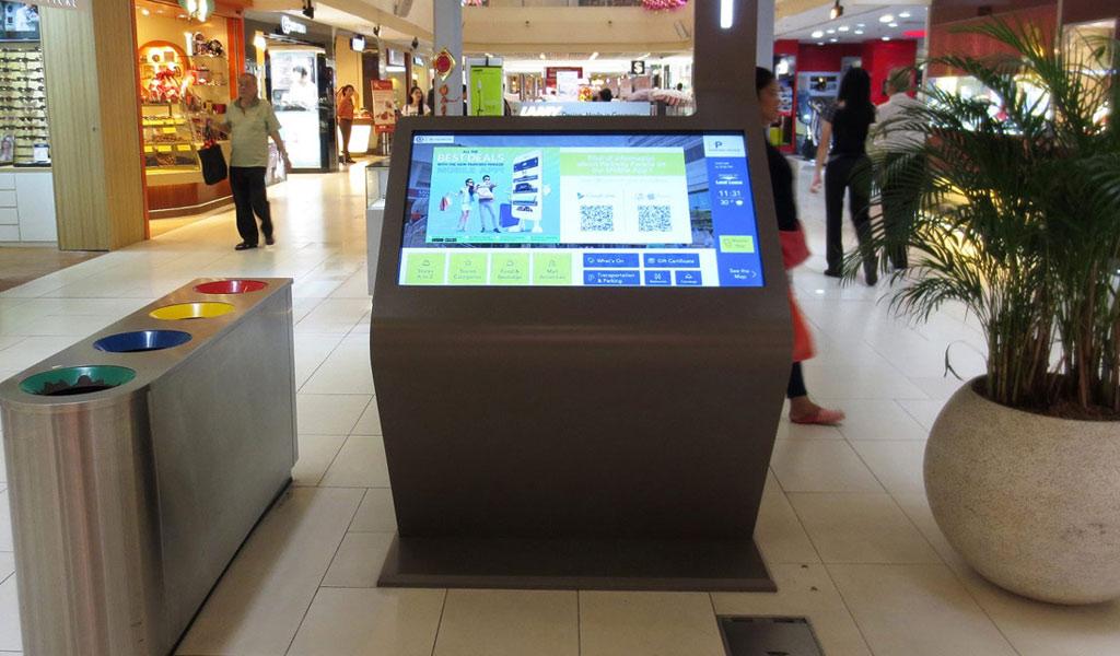 wayfinding kiosk mall