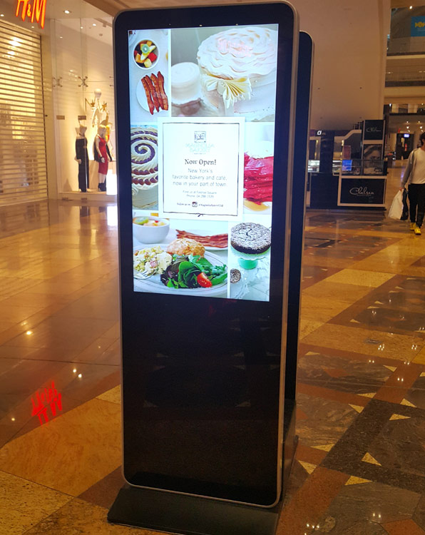 interactive kiosk rental