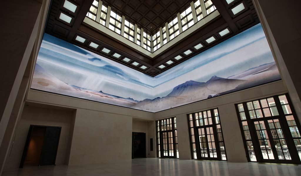 seamless screen indoor