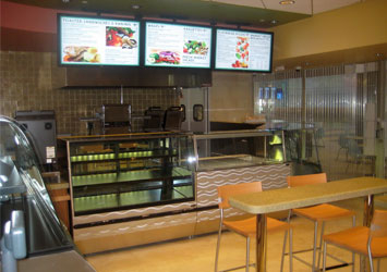 digital signage menu boards