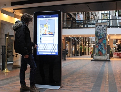 Uses Of A Digital Way-Finding Kiosks In A Shopping Mall